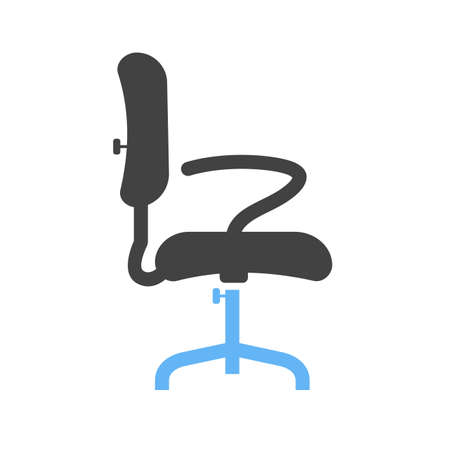 office chair Vector illustration isolated on white background.