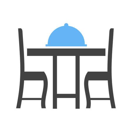 Table setting image illustration