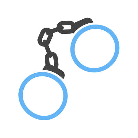Handcuffs icon illustration