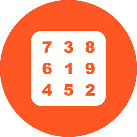 Number Theory icon Illustration