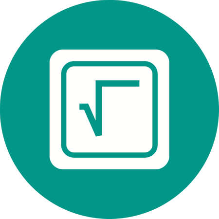 Square Root Symbol Illustration