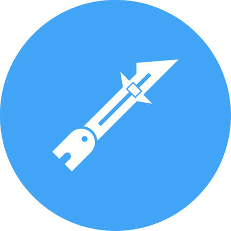 Sewing, tailor, ruler icon vector image. Can also be used for Sewing. Suitable for mobile apps, web apps and print media.  イラスト・ベクター素材