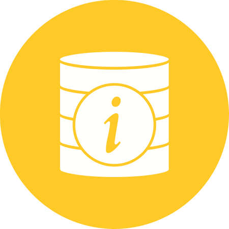 Data Information concept icon