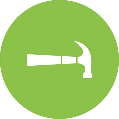 Hammer icon vector illustration Illustration