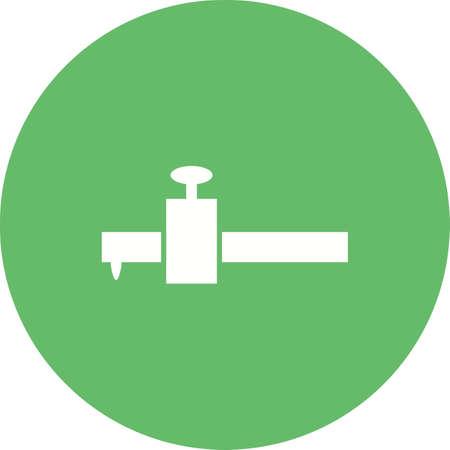Scribe gauge icon image illustration