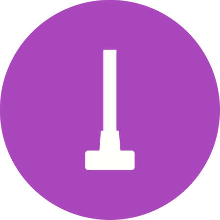 Sledge hammer icon illustration