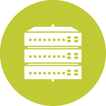 Network Switch Icon illustration