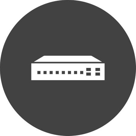 Network Switch illustration Illustration