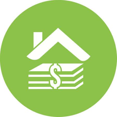 Home loan symbol