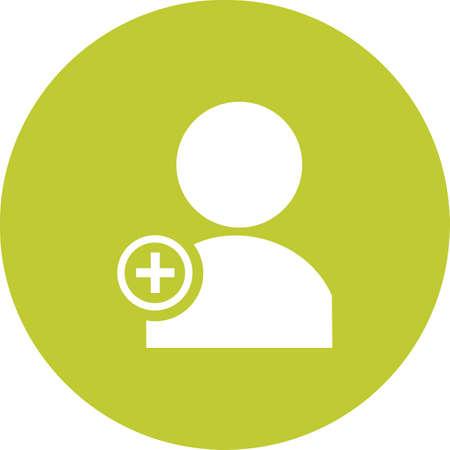 Create User Icon illustration Illustration