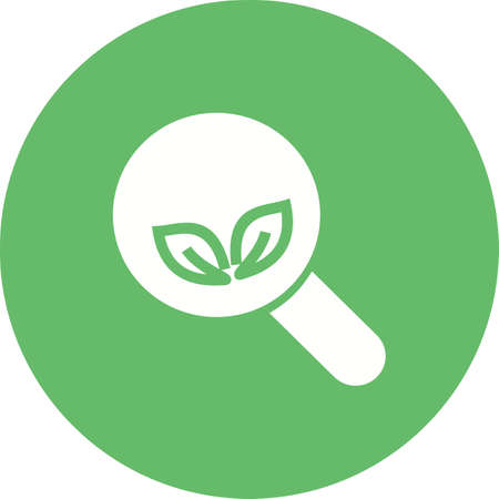 Organic search icon.