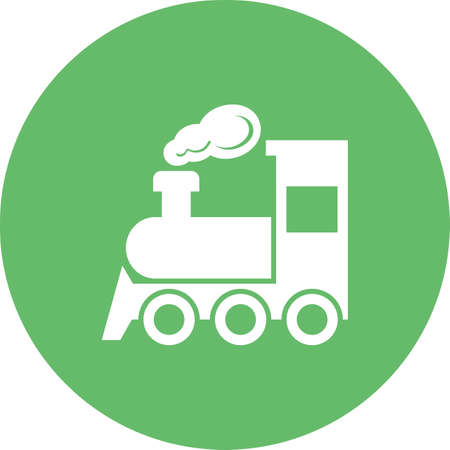 Steam train icon.