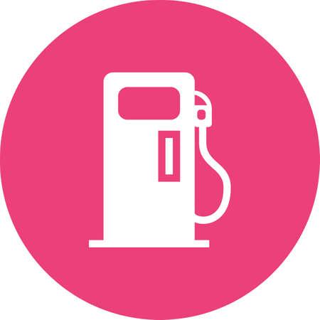 Petrol Pump icon Vector illustration. Illustration
