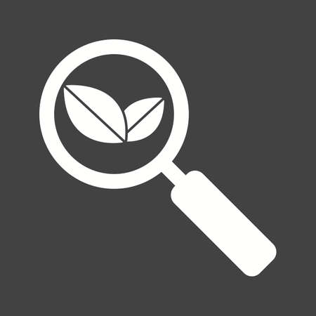 Organic Search icon vector illustration