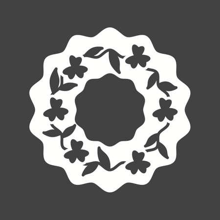 葬儀、花輪、花のアイコンベクトル画像。葬儀にも使用できます。モバイルアプリ、ウェブアプリ、印刷メディアに適しています。