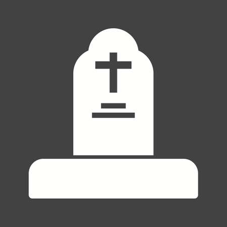 Funeral icon vector illustration Иллюстрация