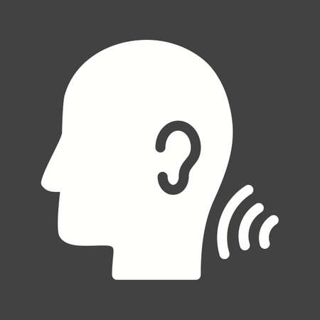 listening skills and understand icon vector image royalty free