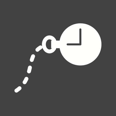 Pocket Watch icon Illustration
