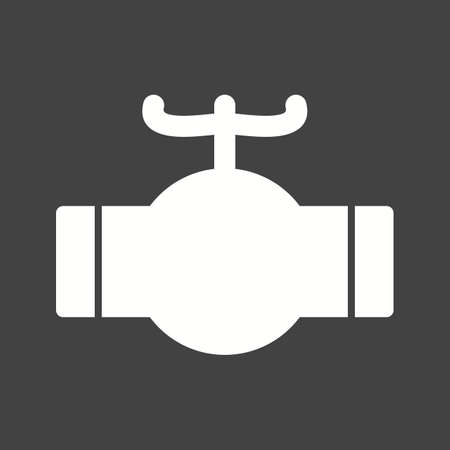 Valve industrial pipe icon vector image. Can also be used for Climatic Equipment. Suitable for mobile apps, web apps and print media.