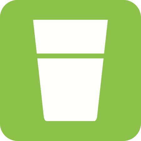 Water Glasses icon Фото со стока - 98692769