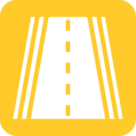 Highway road illustration.