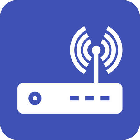 Router, modem hardware  イラスト・ベクター素材