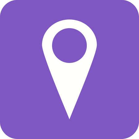 Location Tag Icon illustration.