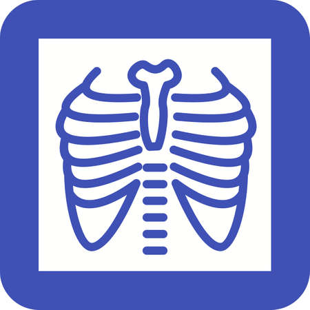 Lungs X ray Icon