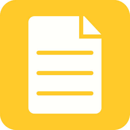Documents, archive or copy icon Ilustrace
