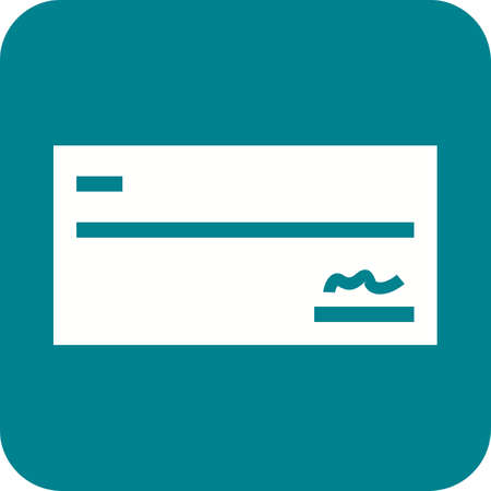 Cheque icon vector illustration Illustration