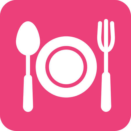 Fork and spoon illustration