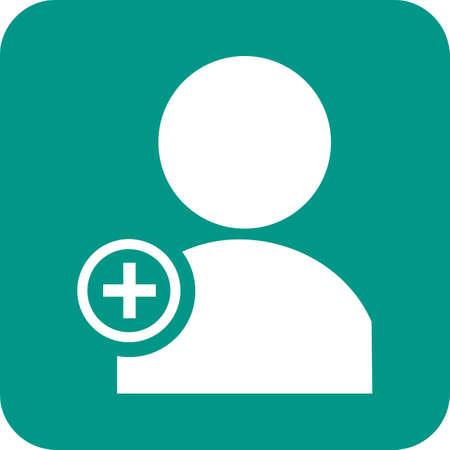 Create User Icon Ilustração