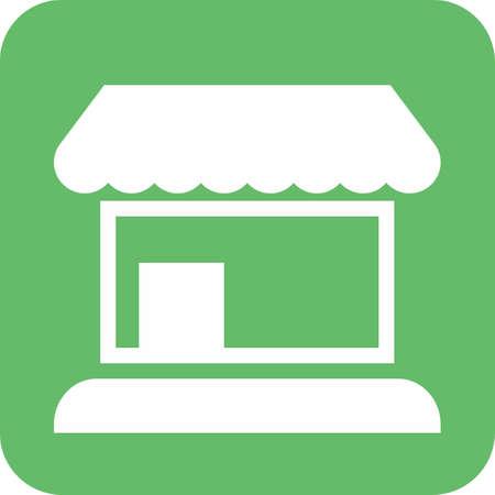 Icône de magasin départemental