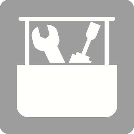 Tool box icon Ilustração