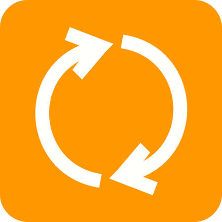 Synchronize, refresh icon Illustration