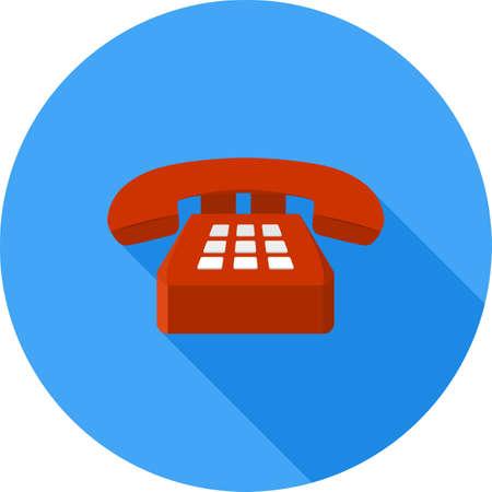 Analog Telephone Icon