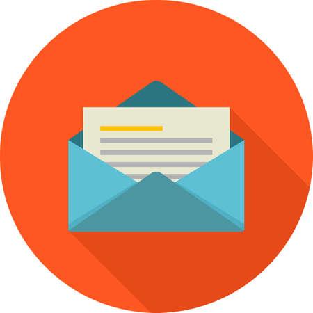 Mail, envelop, letter, Иллюстрация