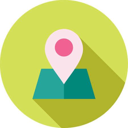 Maps, location, area icon. Иллюстрация