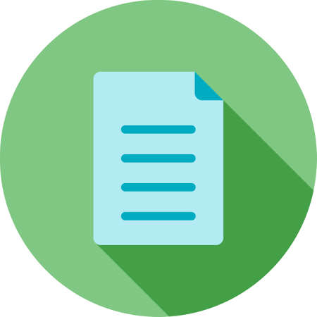 Notes, document, list icon.
