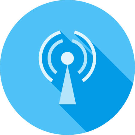 GPRS, Mobile Icon illustration.