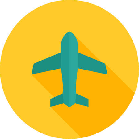 Airplane mode icon illustration.