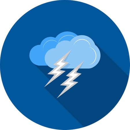 Lightning clouds thunder