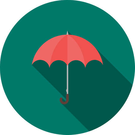 Umbrella icon illustration Ilustrace