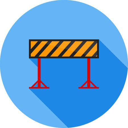 Barrier, security, hurdle Illustration