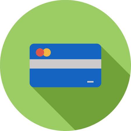Multiple Credit Cards Vettoriali