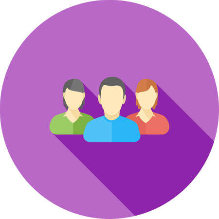 Client, people, public, icon vector image. Can also be used for banking, finance, business. Suitable for web apps, mobile apps and print media.