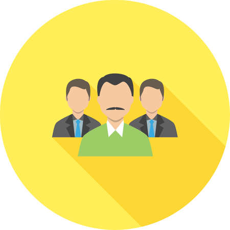 Team, people, users icon. Ilustracja