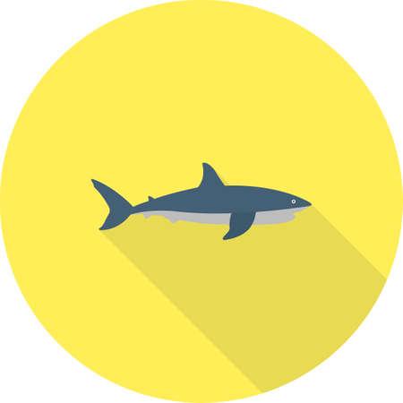 Haai vis pictogram