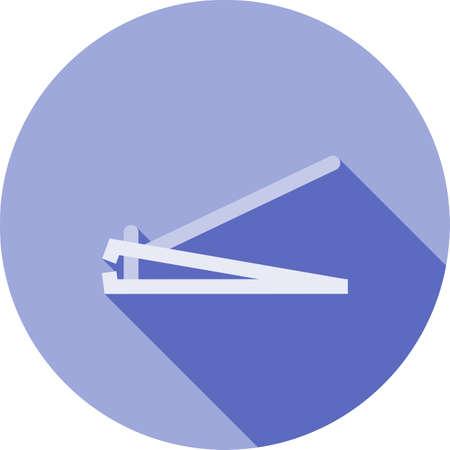 Nailcutter hygiene icon 向量圖像