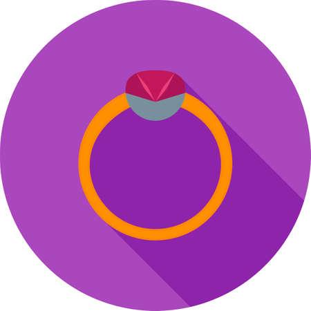 Ring of diamond for wedding Çizim